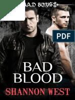 Shannon West - Serie Multiautor Chicos Malos 3 - Mala sangre pdf