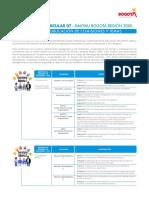 Circular 07 Temas de comisiones Simonu Bogotá Región 2020