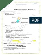 cours reaction chimique ( ziz'sciences )