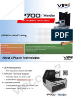 VP700 Technical Training Rev 8a