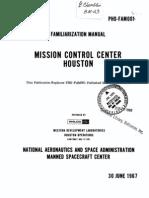 Familiarization Manual Mission Control Center, Houston