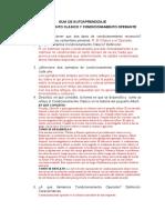 TEORIA DE LA PERSONALIDAD - GUIA DE AUTOAPRENDIZAJE- CONDICIONAMIENTI CLASICO Y OPERANTE.docx