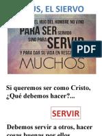 JESÚS EL VERDADERO SIERVO.pptx