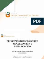 PINCIPIOS BÁSICOS SE SEÑALIZACIÓN (2)
