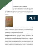 DEFINICION DE CODIGO DE COMERCIO