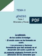 gnesis de los minerales