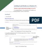 Installing R And RStudio_WindowsPC
