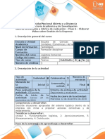 Guía de actividades y rubrica de evaluación - Paso 6 - Elaborar Vídeo sobre Gestión Logística de la Empresa.docx