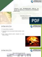 INFLUÊNCIA DAS PROPRIEDADES FÍSICAS DA BIOMASSA FLORESTAL NA PRODUÇÃO DE ENERGIA SUSTENTÁVEL