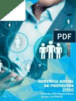 TRABAJO 3 GERENCIA SOCIAL DE PROYECTOS