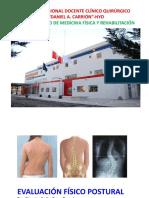 Evaluación físico postural