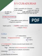 TUTELAS Y CURADURIAS