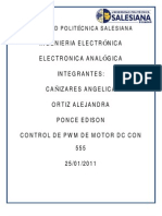 Practica de Control PWM de Motor DC