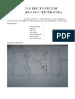 control electronico de ventilador con temperatura