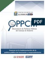 politica publica innovacion medellin-2018