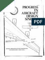 Progress in Aircraft Design Since 1903
