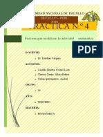 PRÁCTICA Nº 4-FACTORES QUE MODIFICAN LA VELOCIDAD DE REACCIÓN ENZIMÁTICA.docx