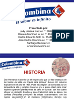 DIAPOSITIVAS COLOMBINA