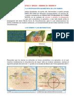 Los sismos y la circunferencia