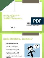 10. PRESENTACIÓN TÉCNICAS DE NEGOCIACIÓN