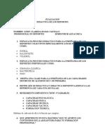 evaluacion didactica