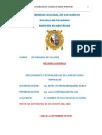 Informe academico DESLIZAMIENTO Y ESTABIIDAD DE TALUDES EN ZONAS TROPICALES