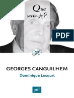 Dominique-Lecourt-Georges-Canguilhem