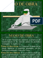 COSTOS MANO DE OBRA