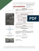 Ficha técnica ECOTAR