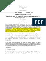 Settlement of Estate Cases