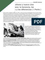 JORGE SANJINÉS- Neorrealismo y Nuevo Cine Latinoamericano (I Parte)