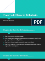2.Fuentes del Derecho Tributario