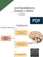 Tumores hipotalámicos, hipofisiarios y sillares