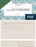 Unidad 3. Textos líricos