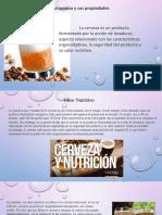 Propiedades Organolepticas y Nutricionales