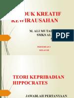 1. PERTEMUAN 1 (JAM 5-8) PKK XII TEORI HIPPOCRATES