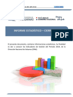 Gacetilla Anual 2019
