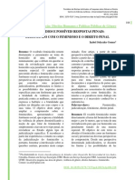 Artigo - FEMINICiDIOS E POSSiVEIS RESPOSTAS PENAIS