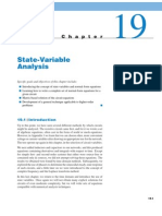 state variable analysis