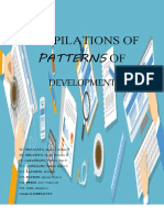 COMPILATIONS OF PATTERNS OF DEVELOPMENT
