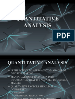 5. Regression analysis