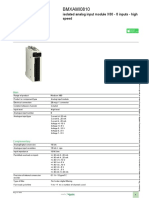 Modicon X80 modules_BMXAMI0810