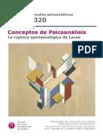 Programa 2019/2020 del Col·legi de Clínica Psicoanalítica de València