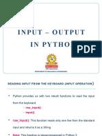 5 Input output