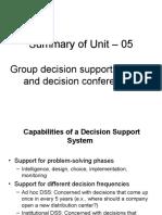 Summary of Unit 5