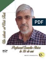 Corneliu Stoica Un Istoric Al Vaii Trotusului Profesorul Corneliu Stoica La 70 de Ani