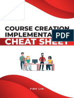 Course Implementation Cheat Sheet.pdf