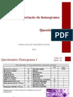 Questionário de hemogramas - arquivo de revisão