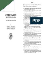 Vol. 1 Tempus Adventus et Nativitatis