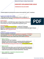 8- POLYRADICULONEVRITE INFLAMMATOIRE AIGUE SYNDROME DE GUILLAIN BARRE